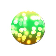 Soft Lights Bokeh 3 Magnet 3  (Round)