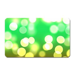 Soft Lights Bokeh 3 Magnet (Rectangular)