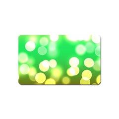 Soft Lights Bokeh 3 Magnet (Name Card)