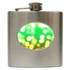 Soft Lights Bokeh 3 Hip Flask (6 oz)
