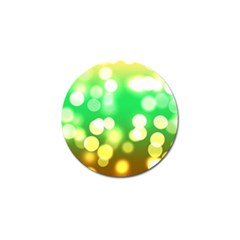 Soft Lights Bokeh 3 Golf Ball Marker (10 pack)
