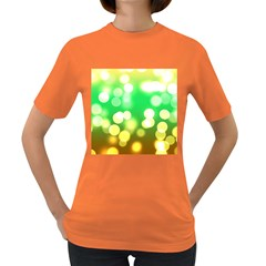 Soft Lights Bokeh 3 Women s Dark T-Shirt