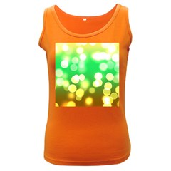Soft Lights Bokeh 3 Women s Dark Tank Top