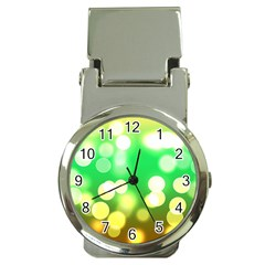Soft Lights Bokeh 3 Money Clip Watches