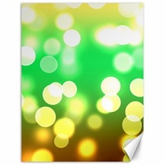 Soft Lights Bokeh 3 Canvas 12  X 16   by MoreColorsinLife