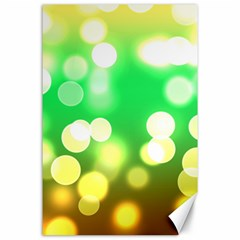 Soft Lights Bokeh 3 Canvas 24  x 36