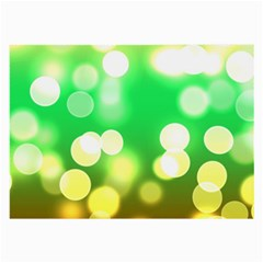 Soft Lights Bokeh 3 Large Glasses Cloth (2-Side)