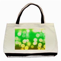 Soft Lights Bokeh 3 Basic Tote Bag (Two Sides)