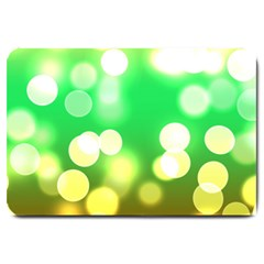 Soft Lights Bokeh 3 Large Doormat