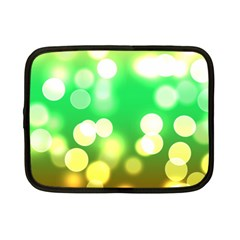 Soft Lights Bokeh 3 Netbook Case (Small)