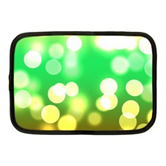 Soft Lights Bokeh 3 Netbook Case (Medium)
