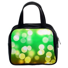Soft Lights Bokeh 3 Classic Handbags (2 Sides)