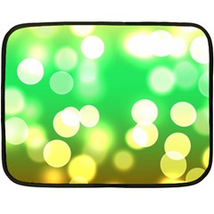 Soft Lights Bokeh 3 Double Sided Fleece Blanket (Mini)