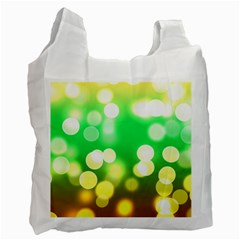 Soft Lights Bokeh 3 Recycle Bag (Two Side)
