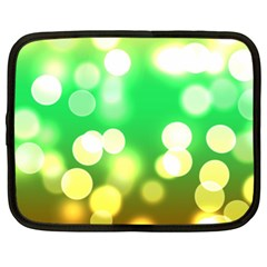 Soft Lights Bokeh 3 Netbook Case (XL)