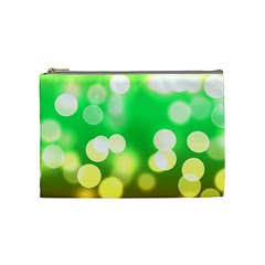 Soft Lights Bokeh 3 Cosmetic Bag (Medium)