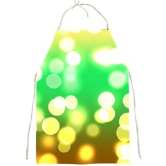 Soft Lights Bokeh 3 Full Print Aprons
