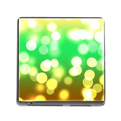 Soft Lights Bokeh 3 Memory Card Reader (Square)