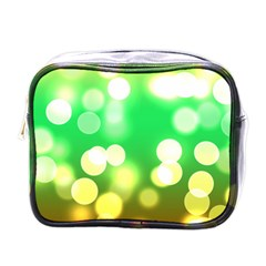 Soft Lights Bokeh 3 Mini Toiletries Bags