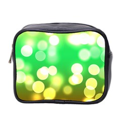 Soft Lights Bokeh 3 Mini Toiletries Bag 2-Side