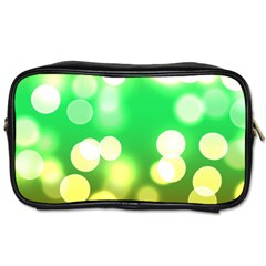 Soft Lights Bokeh 3 Toiletries Bags