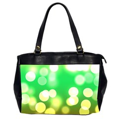 Soft Lights Bokeh 3 Office Handbags (2 Sides)