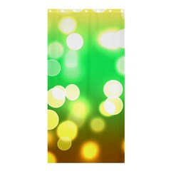 Soft Lights Bokeh 3 Shower Curtain 36  x 72  (Stall)
