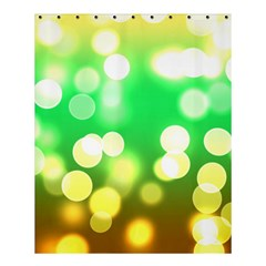 Soft Lights Bokeh 3 Shower Curtain 60  x 72  (Medium)