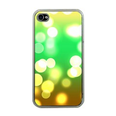 Soft Lights Bokeh 3 Apple iPhone 4 Case (Clear)