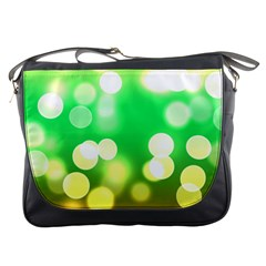 Soft Lights Bokeh 3 Messenger Bags