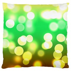Soft Lights Bokeh 3 Large Cushion Case (One Side)