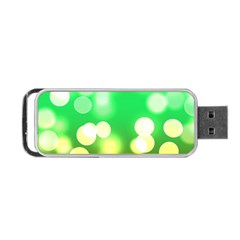 Soft Lights Bokeh 3 Portable USB Flash (Two Sides)
