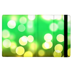 Soft Lights Bokeh 3 Apple iPad 3/4 Flip Case