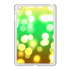 Soft Lights Bokeh 3 Apple iPad Mini Case (White)