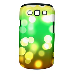 Soft Lights Bokeh 3 Samsung Galaxy S III Classic Hardshell Case (PC+Silicone)
