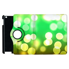 Soft Lights Bokeh 3 Apple iPad 2 Flip 360 Case