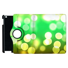 Soft Lights Bokeh 3 Apple iPad 3/4 Flip 360 Case