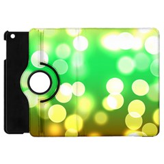 Soft Lights Bokeh 3 Apple iPad Mini Flip 360 Case