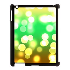 Soft Lights Bokeh 3 Apple iPad 3/4 Case (Black)