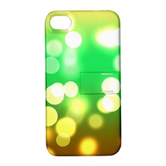 Soft Lights Bokeh 3 Apple iPhone 4/4S Hardshell Case with Stand