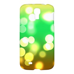 Soft Lights Bokeh 3 Samsung Galaxy S4 I9500/I9505 Hardshell Case