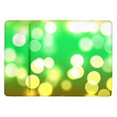 Soft Lights Bokeh 3 Samsung Galaxy Tab 10.1  P7500 Flip Case