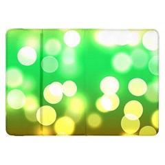Soft Lights Bokeh 3 Samsung Galaxy Tab 8.9  P7300 Flip Case