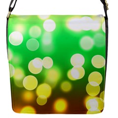 Soft Lights Bokeh 3 Flap Messenger Bag (S)