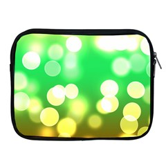 Soft Lights Bokeh 3 Apple iPad 2/3/4 Zipper Cases