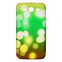 Soft Lights Bokeh 3 Samsung Galaxy Mega 5.8 I9152 Hardshell Case