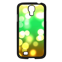 Soft Lights Bokeh 3 Samsung Galaxy S4 I9500/ I9505 Case (Black)