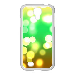 Soft Lights Bokeh 3 Samsung GALAXY S4 I9500/ I9505 Case (White)