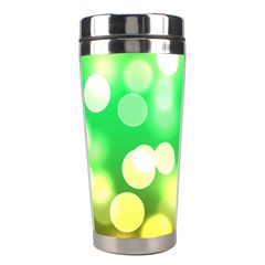 Soft Lights Bokeh 3 Stainless Steel Travel Tumblers