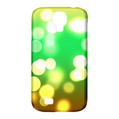 Soft Lights Bokeh 3 Samsung Galaxy S4 Classic Hardshell Case (PC+Silicone)